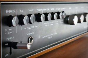 Amplificadores para tocadiscos