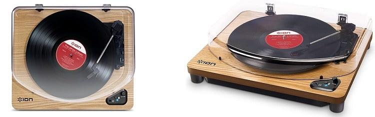 Tocadiscos ION Audio Air LP Wood