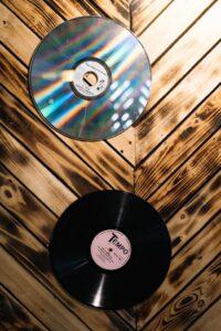 disco de acetato y vinilo