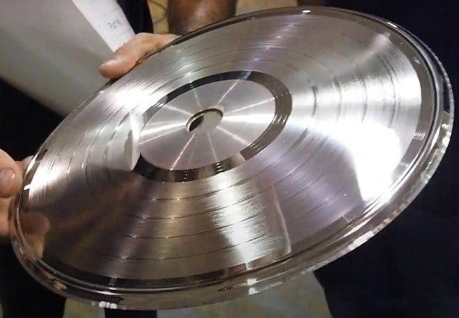 molde disco acetato